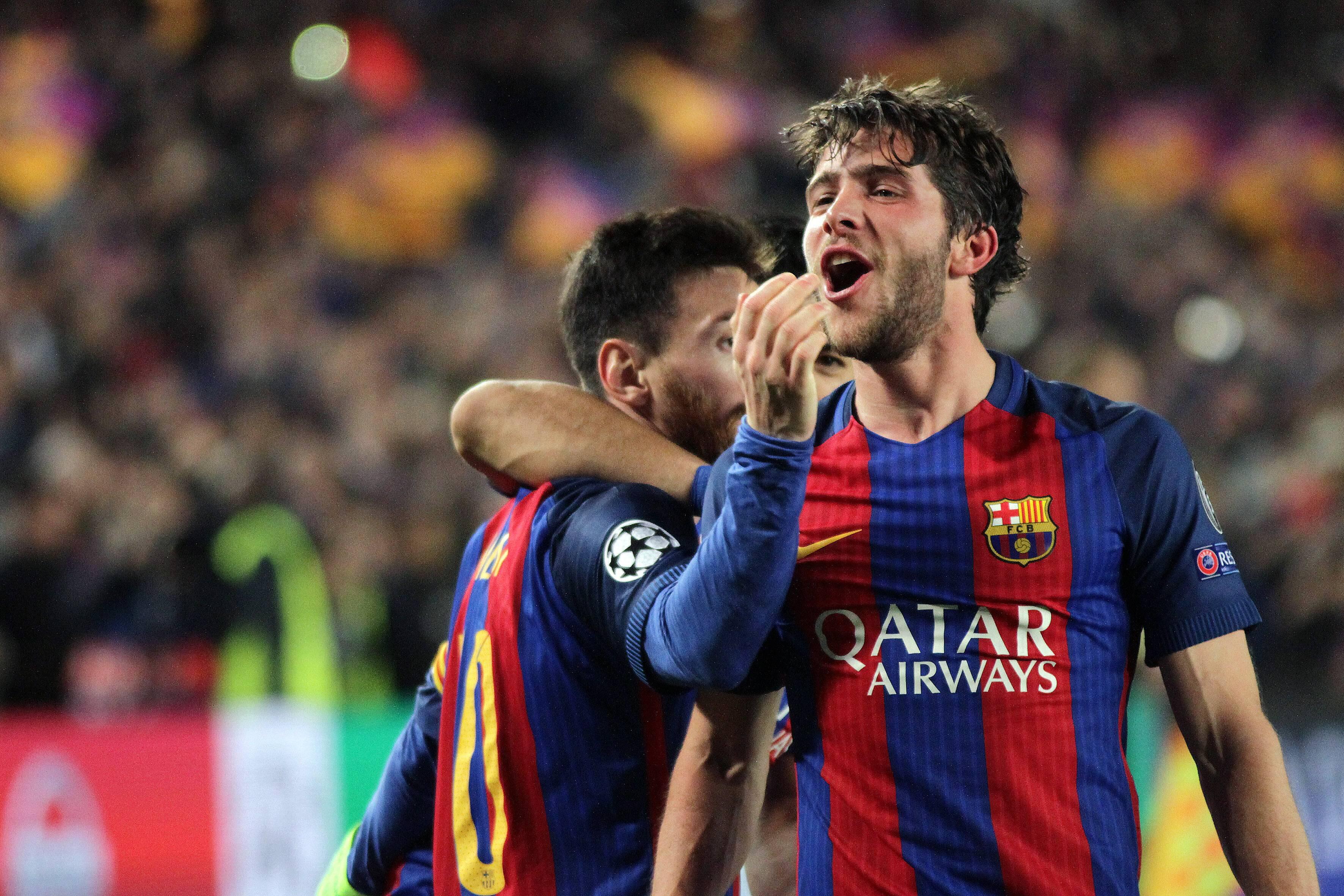 Bild zu FC Barcelona, Champions League, Sergi Roberto