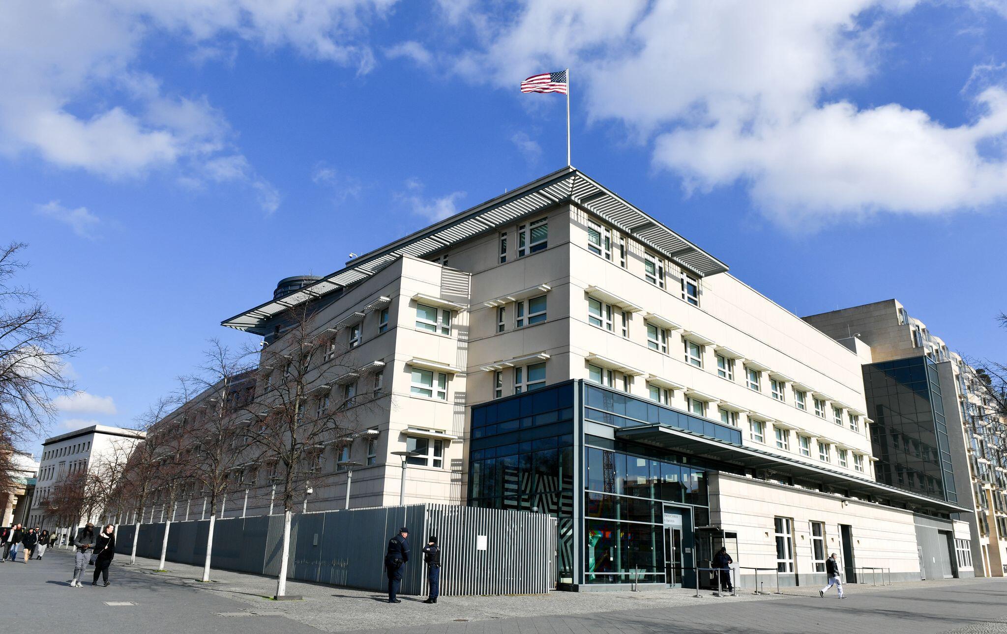 Bild zu US-Botschaft in Berlin