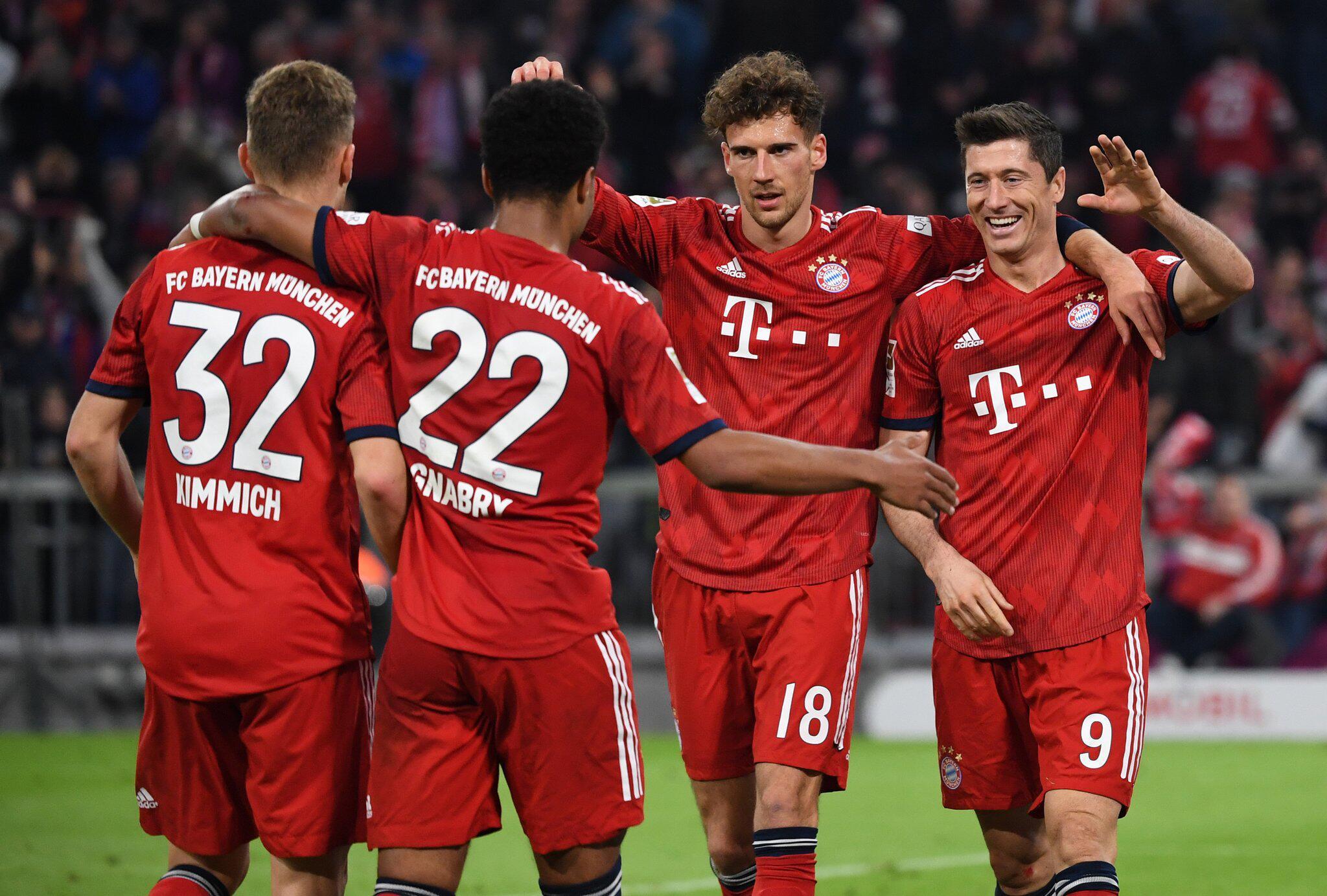 Bild zu Bavaria Munich - Borussia Dortmund
