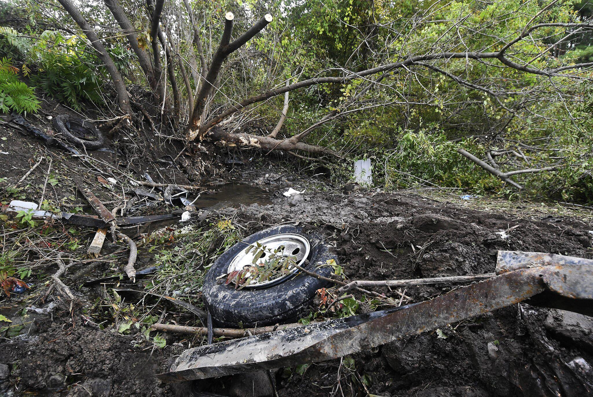 Bild zu Unfall, Auto, Limousine, US-Bundesstaat New York, Schoharie