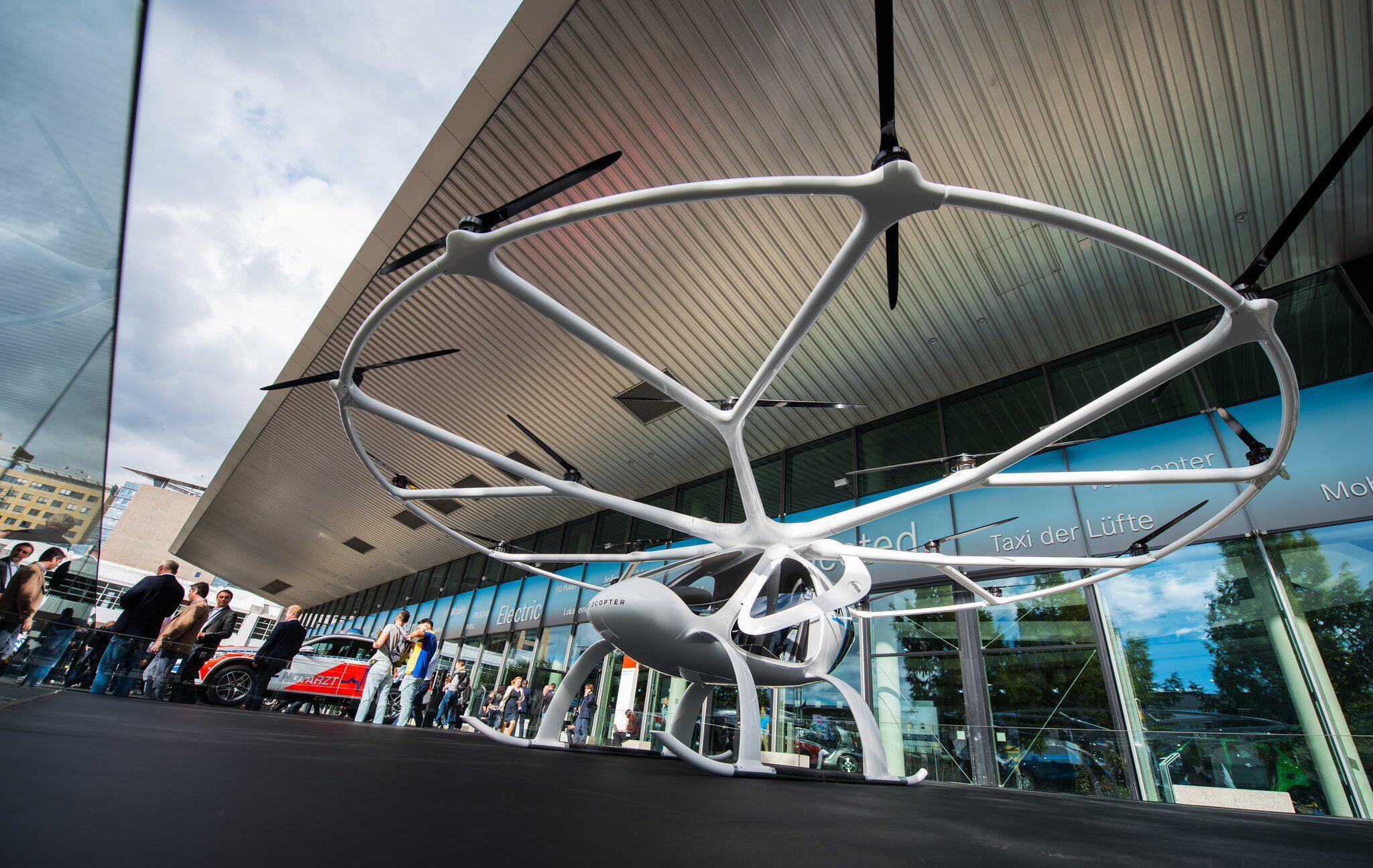Bild zu IAA-Volocopter