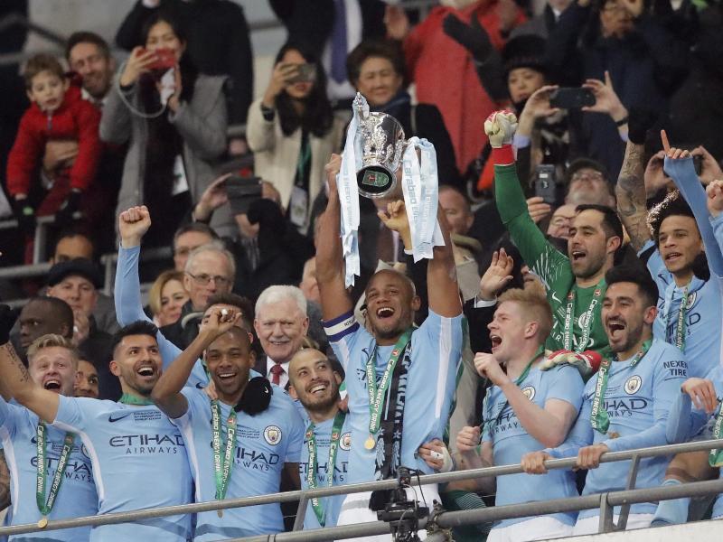 Bild zu Manchester City - FC Arsenal