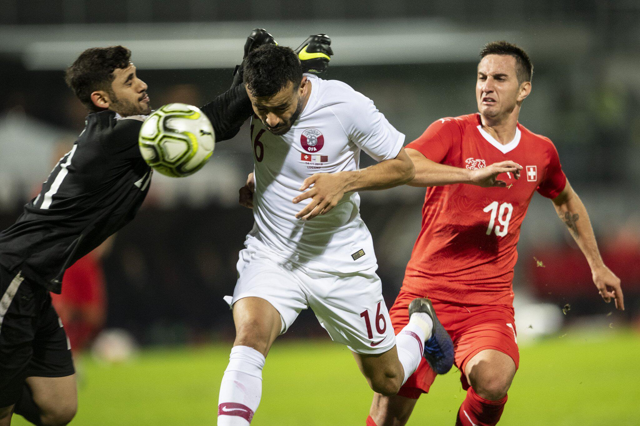 Bild zu Schweiz - Katar