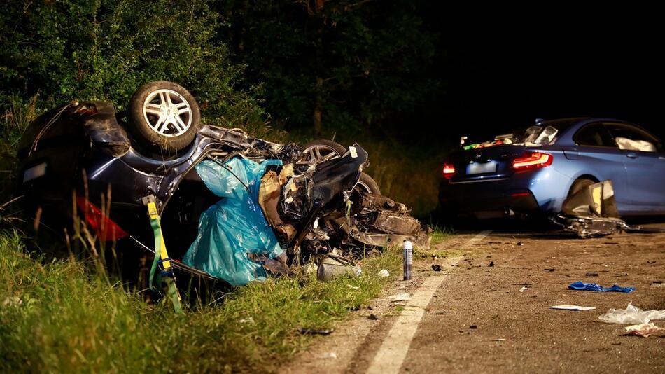 Auto-Unfall, Baden-Württemberg
