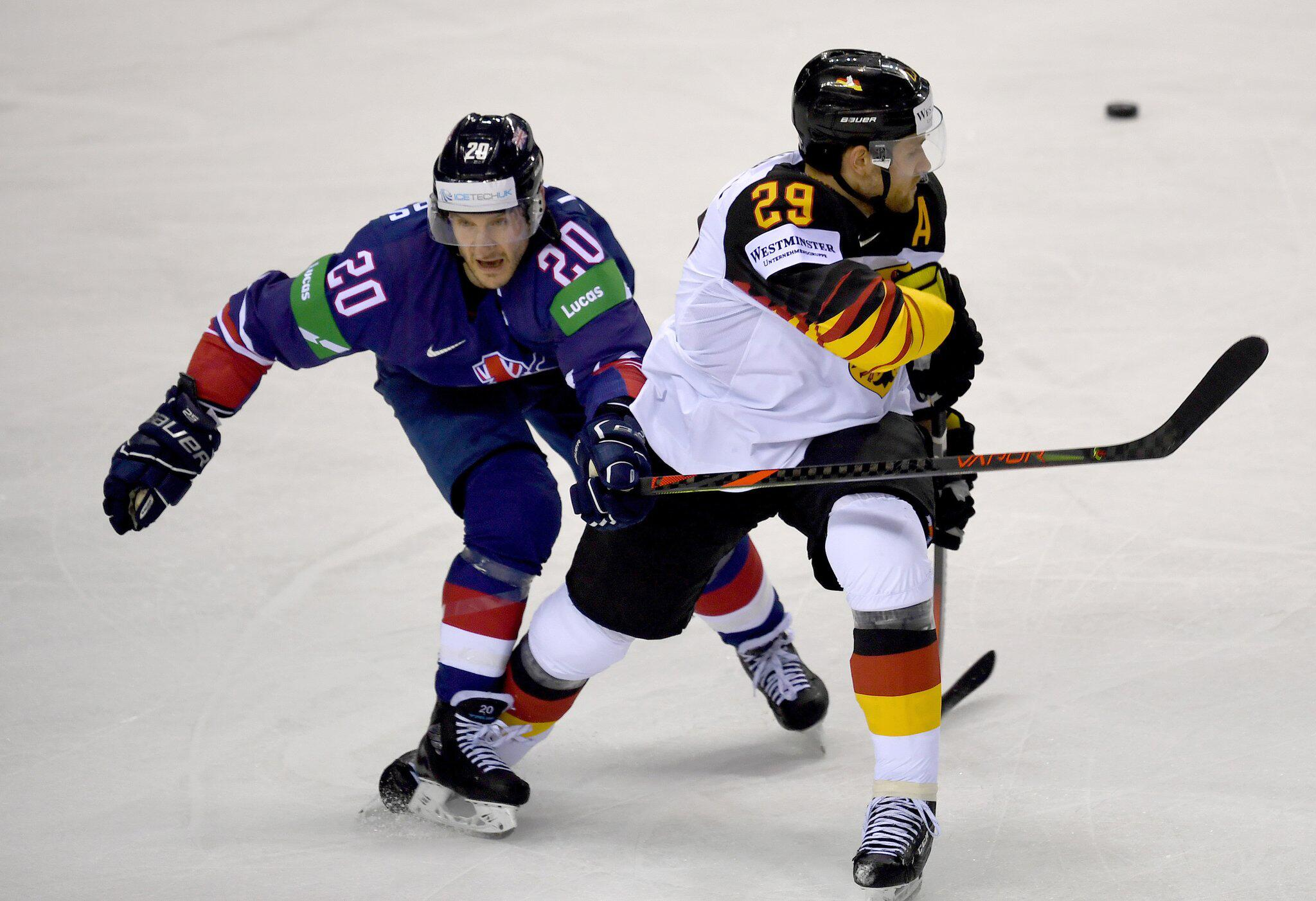 Bild zu Eishockey WM: Deutschland - Großbritannien