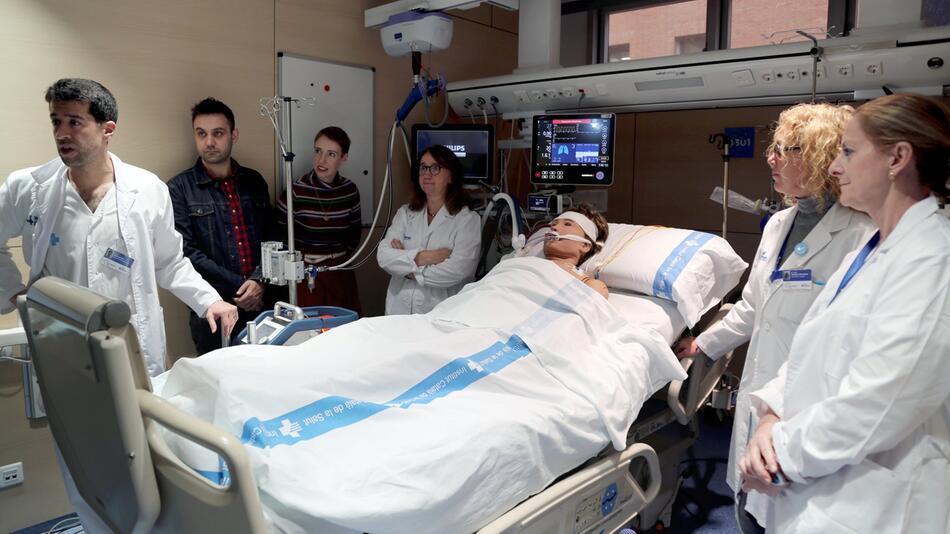 Frau nach sechs Stunden ohne Herzschlag wiederbelebt