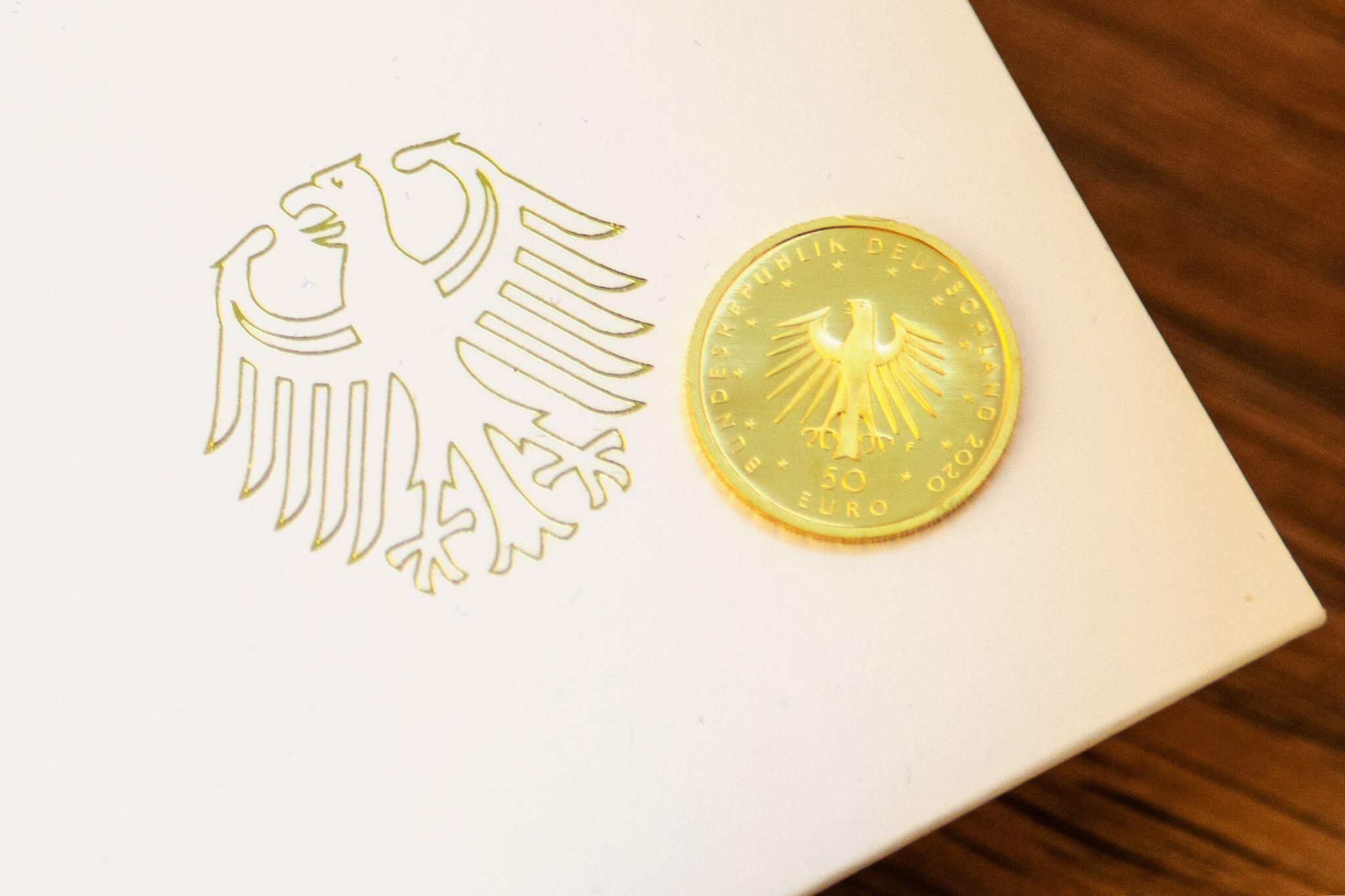 Bild zu Goldmünze