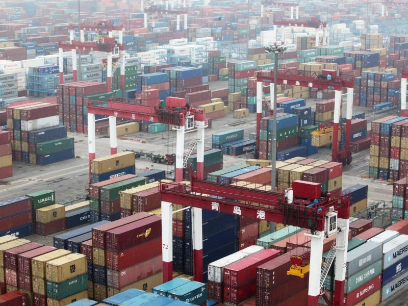 Bild zu Hafen von Qingdao