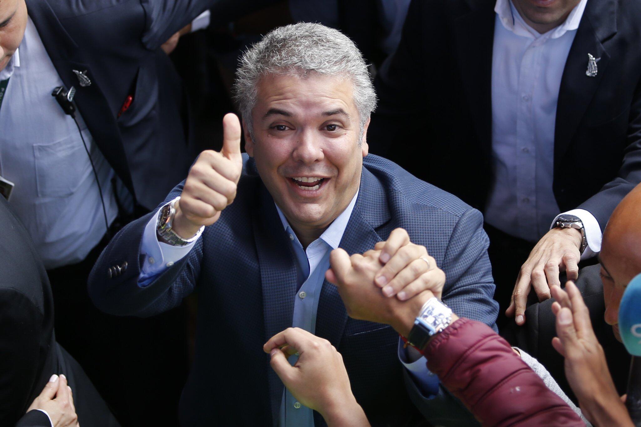 Bild zu Präsidentenwahl in Kolumbien - Stichwahl