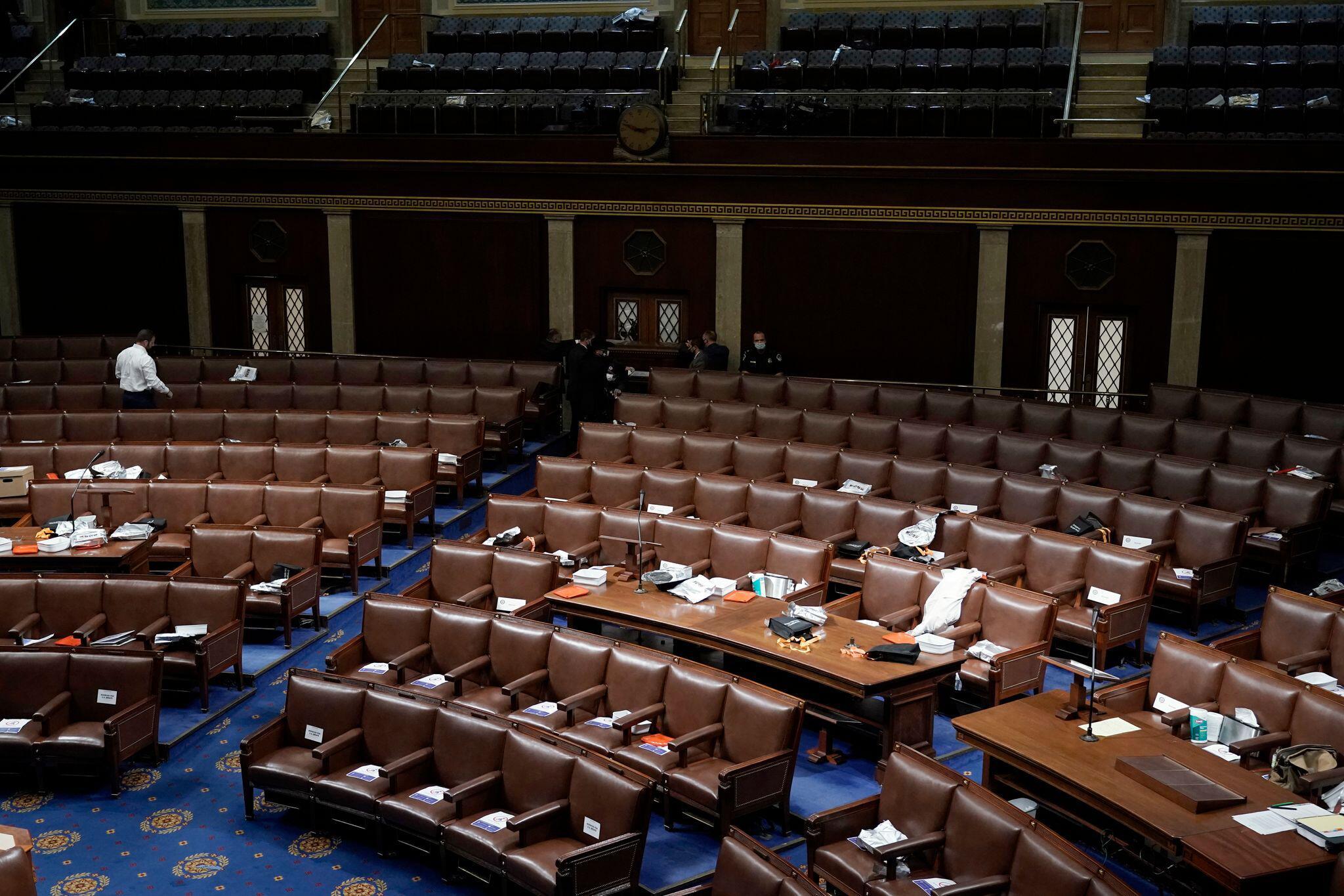 Bild zu Zertifizierung der US-Wahlergebnisse im US-Kongress