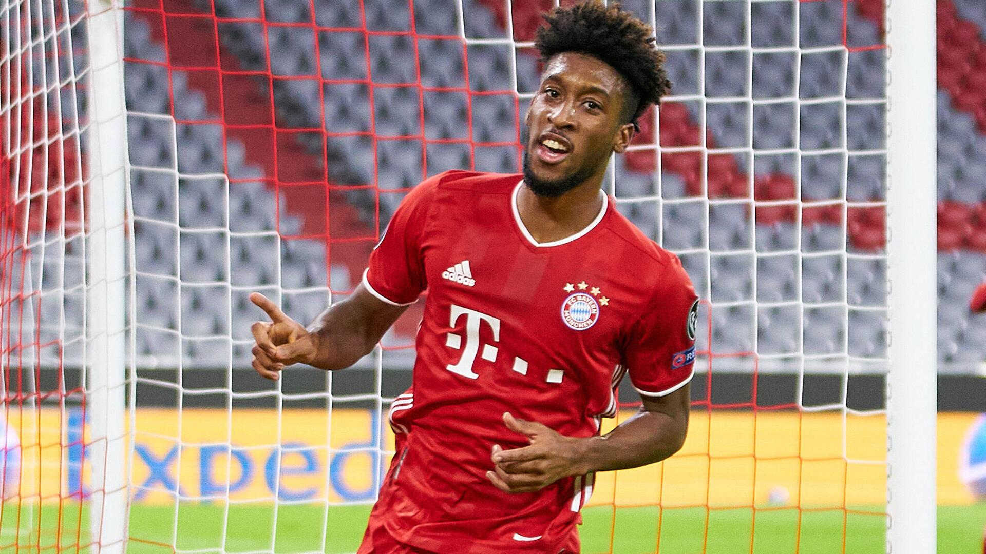 Bild zu FC Bayern München und Kingsley Coman in der Champions League