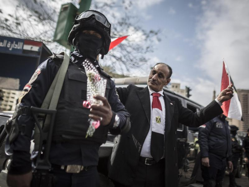 Bild zu Jahrestag der Aufstände in Ägypten