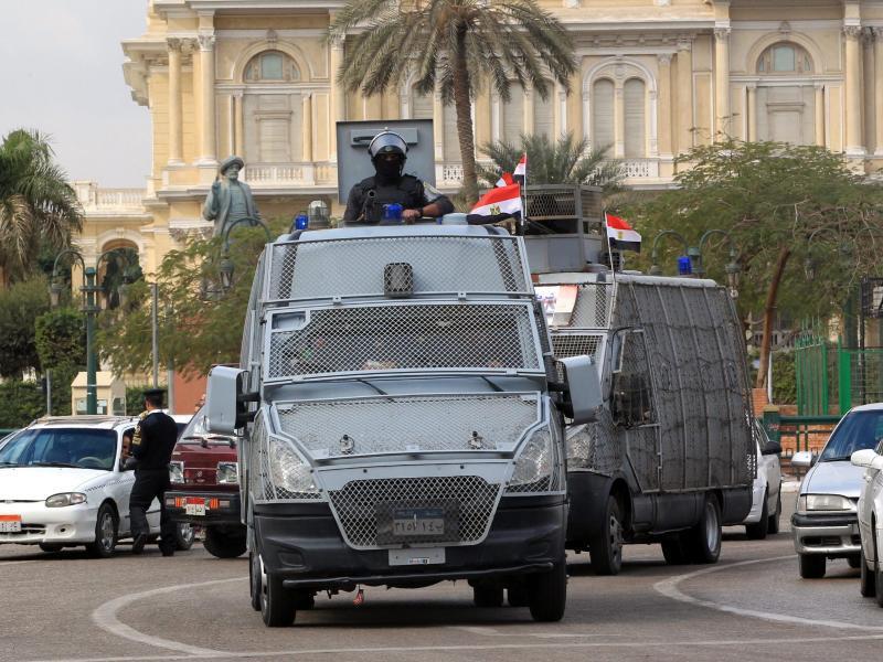 Bild zu Sicherheitskräfte in Kairo