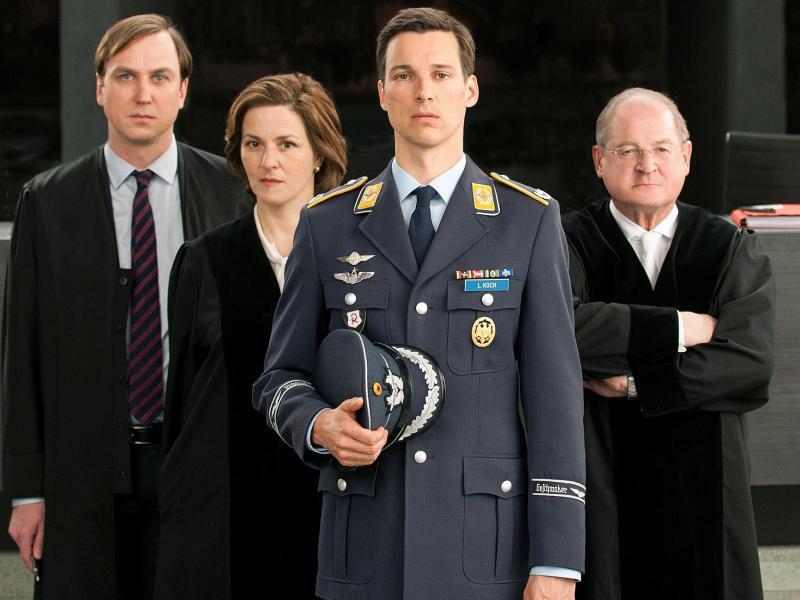 Bild zu ARD-Gerichtsdrama «Terror - Ihr Urteil»