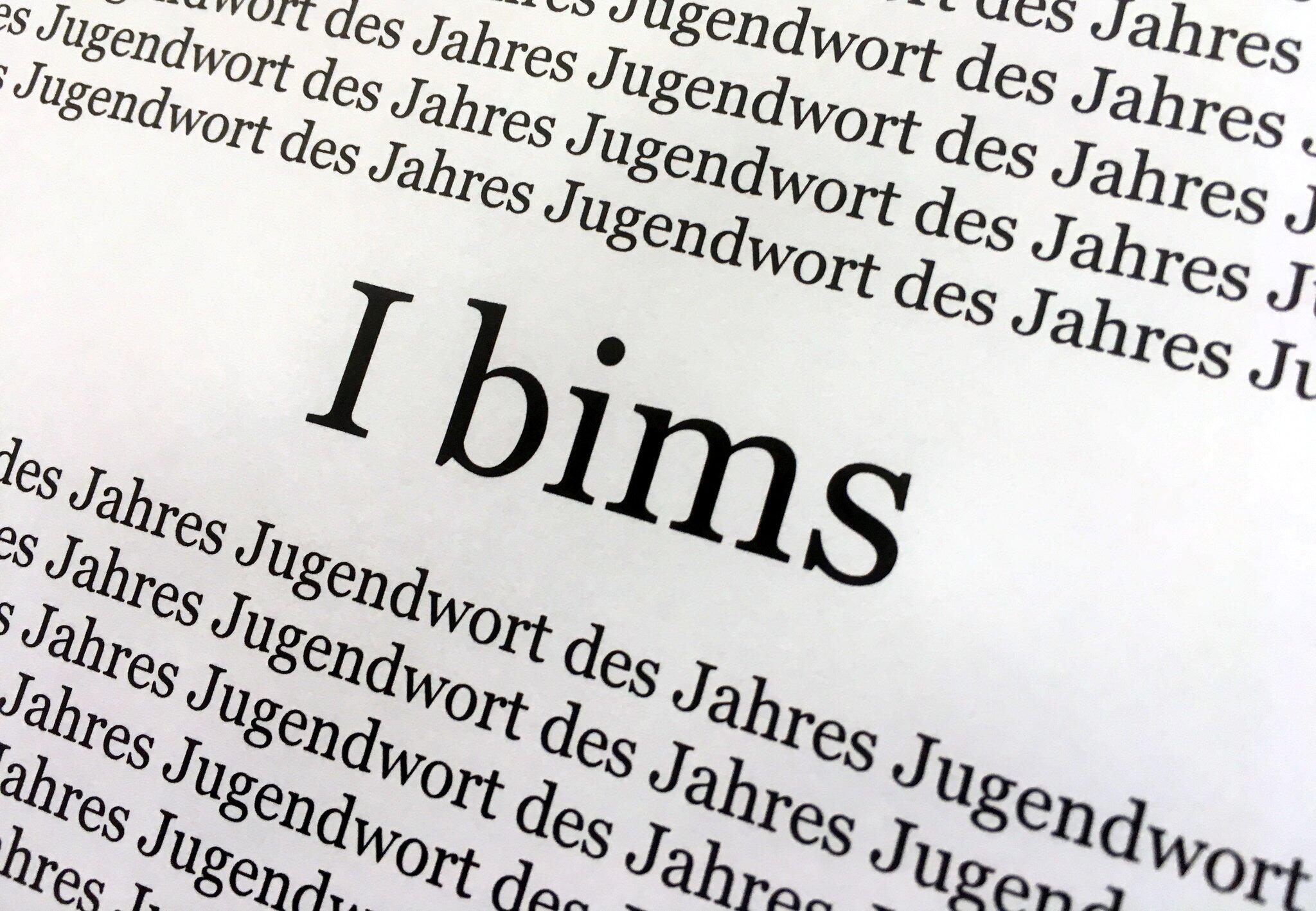 """Bild zu """"I bims"""" ist """"Jugendwort des Jahres"""""""