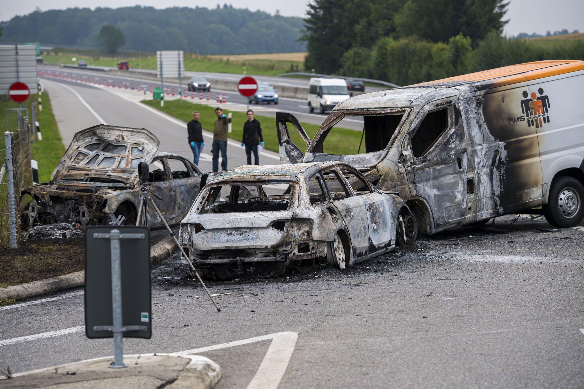 Bild zu Spektakulärer Überfall auf Geldtransporter in der Schweiz