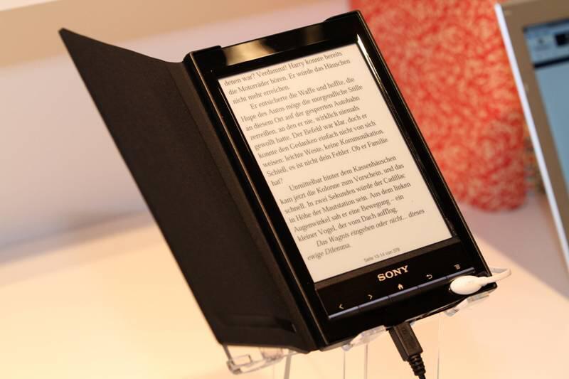 Bild zu Sony eBook Reader in der Farbe schwarz