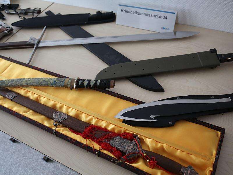 Bild zu Beschlagnahmte Waffen