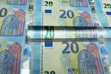 20 Euroschein Design Europaserie