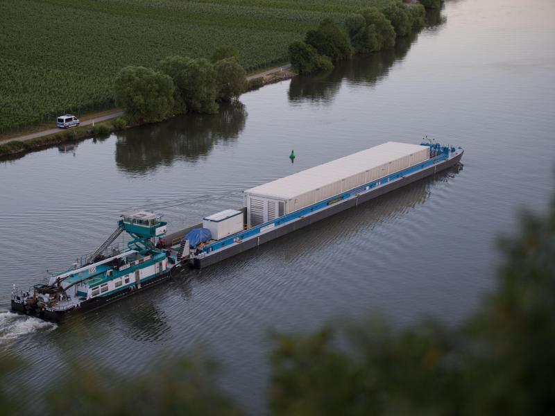 Bild zu Auf dem Neckar