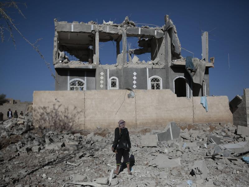 Bild zu Krieg im Jemen