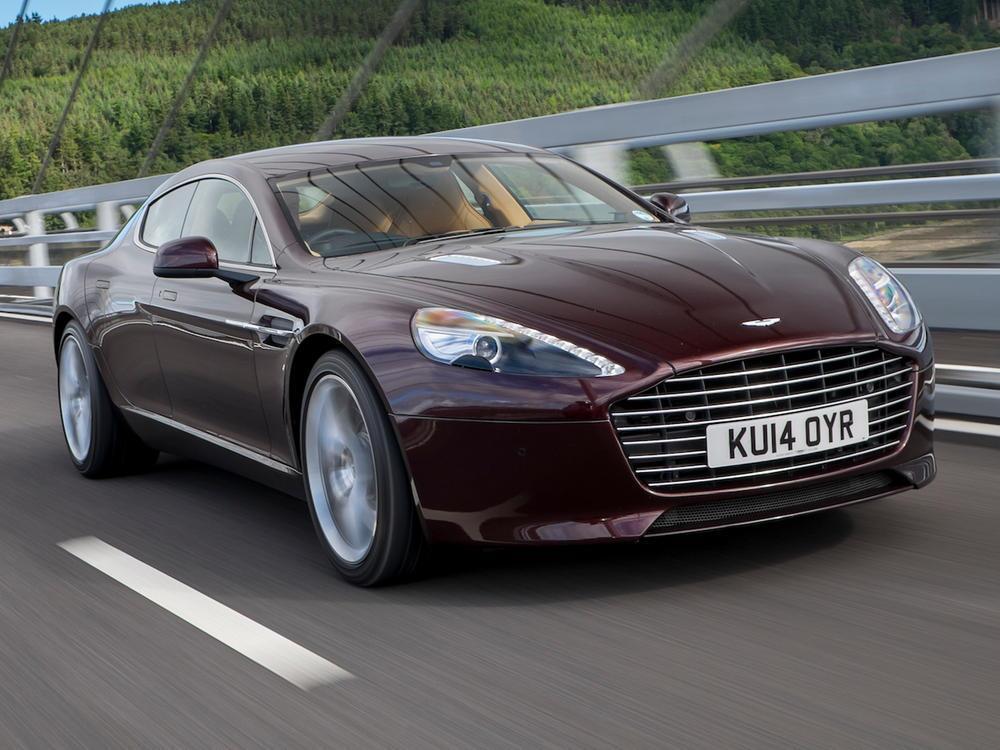 Bild zu Aston Martin Rapide