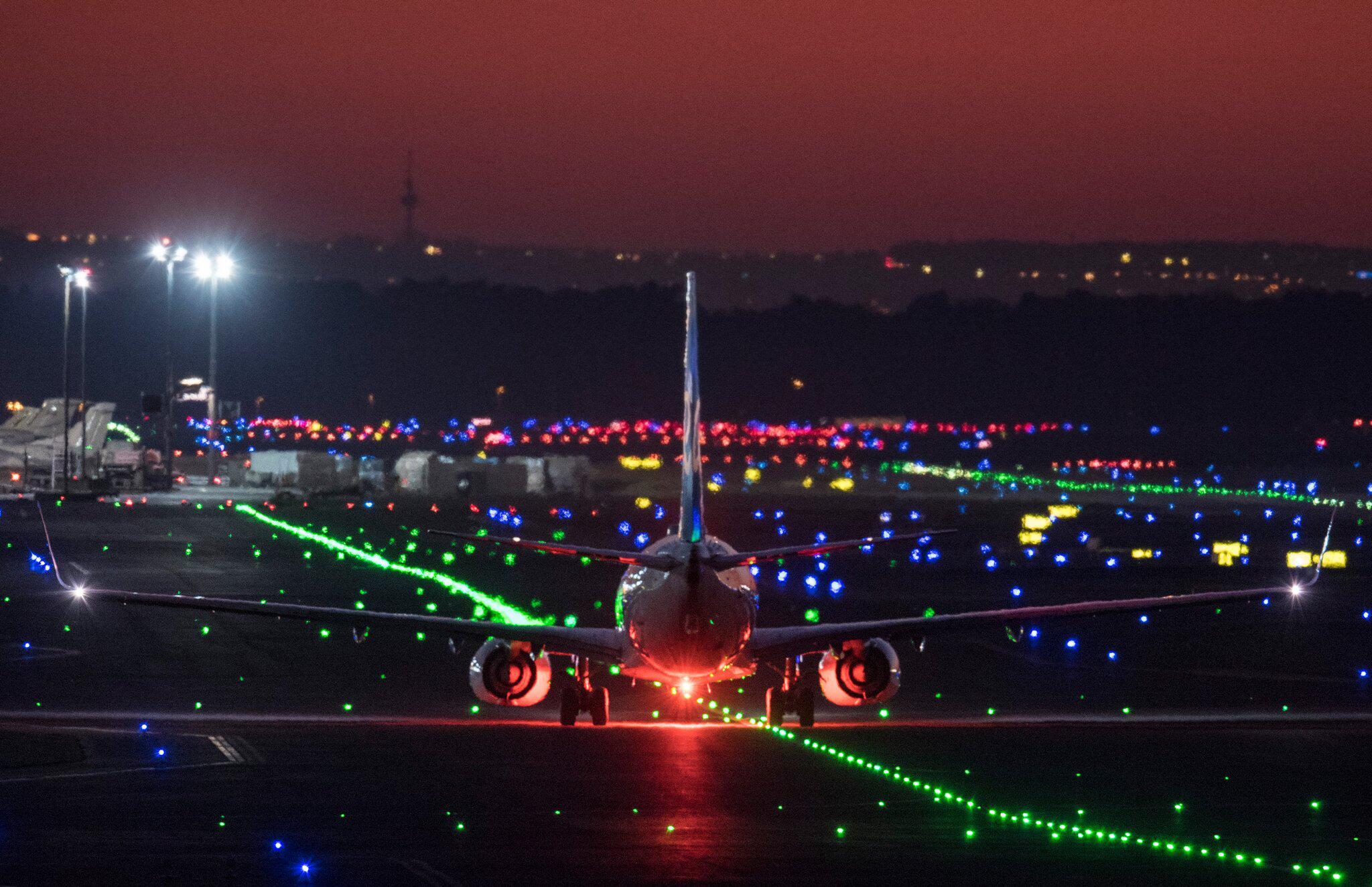 Bild zu Flugbetrieb am Frankfurter Flughafen wegen Drohne eingestellt