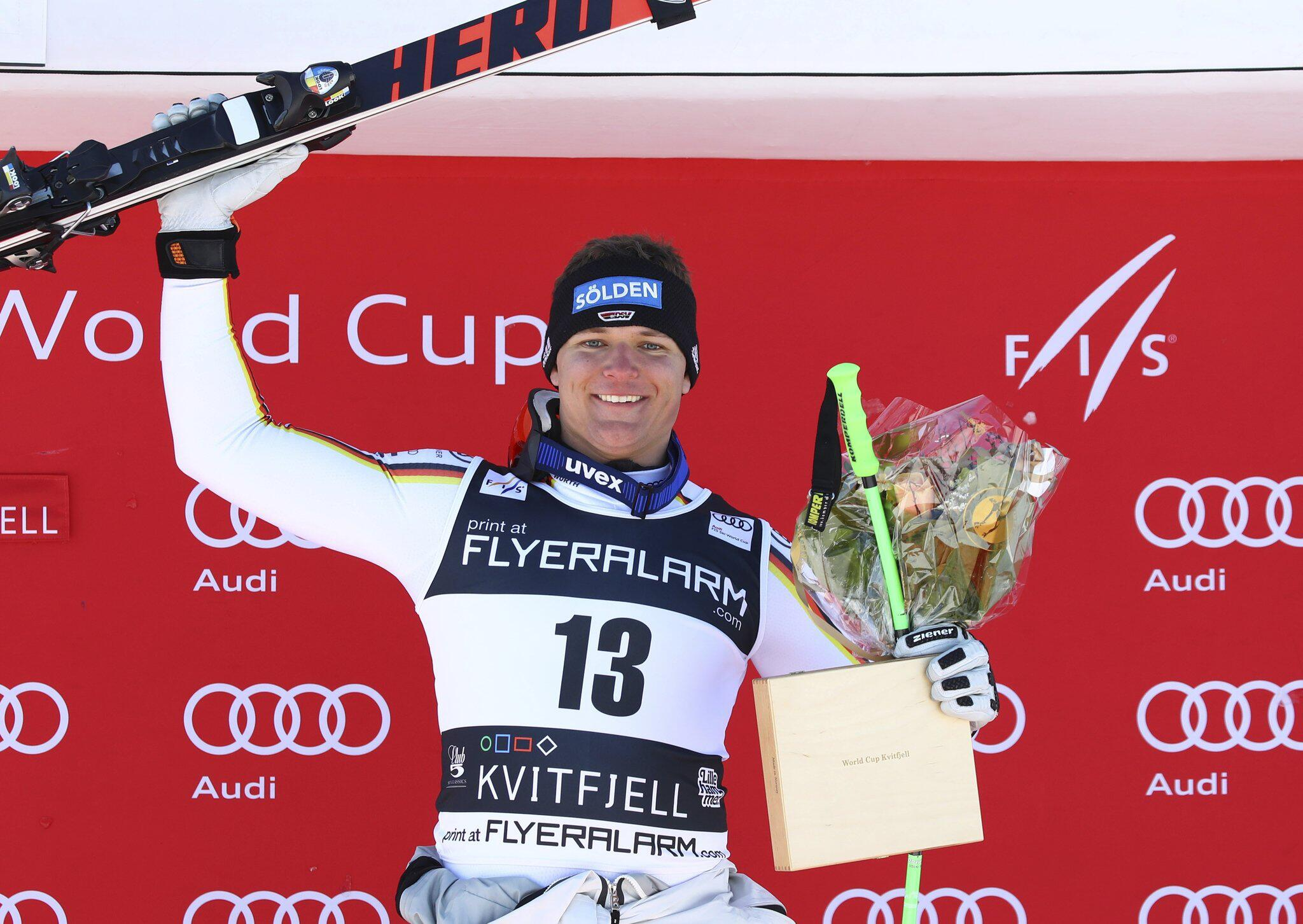 Bild zu Ski alpin: Weltcup in Kvitfjell
