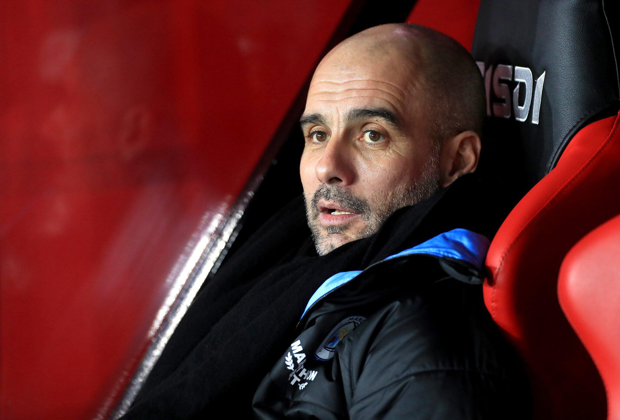 Bild zu Manchester City - Guardiola