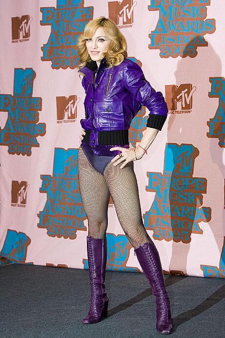 Madonna bei den MTV European Music Awards 2005