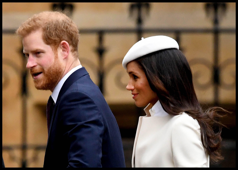 Bild zu Meghan Markle: Erster offizieller Auftritt mit der Queen
