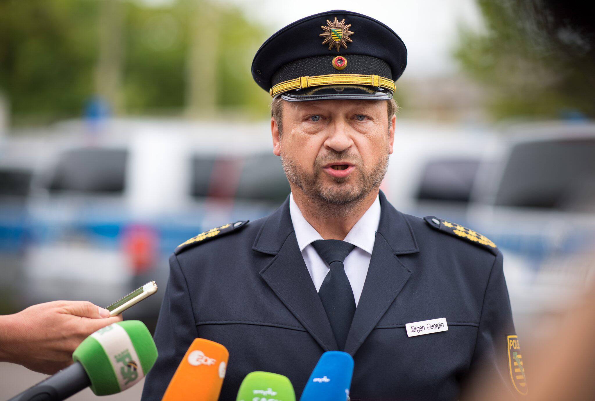 Bild zu Landespolizeipräsident Georgie zu geplanten Demonstrationen in C