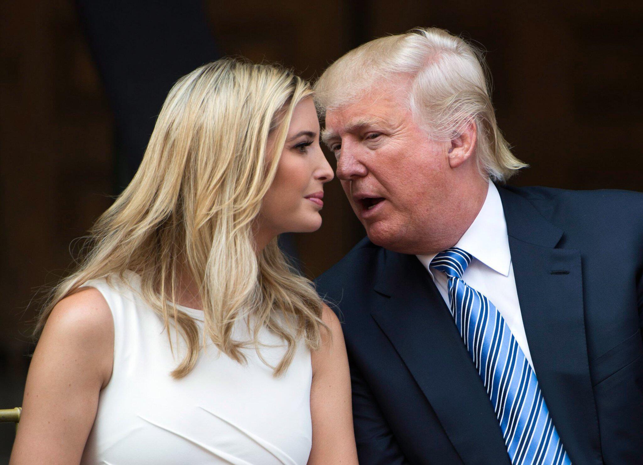 Bild zu Ivanka Trump, Donald Trump
