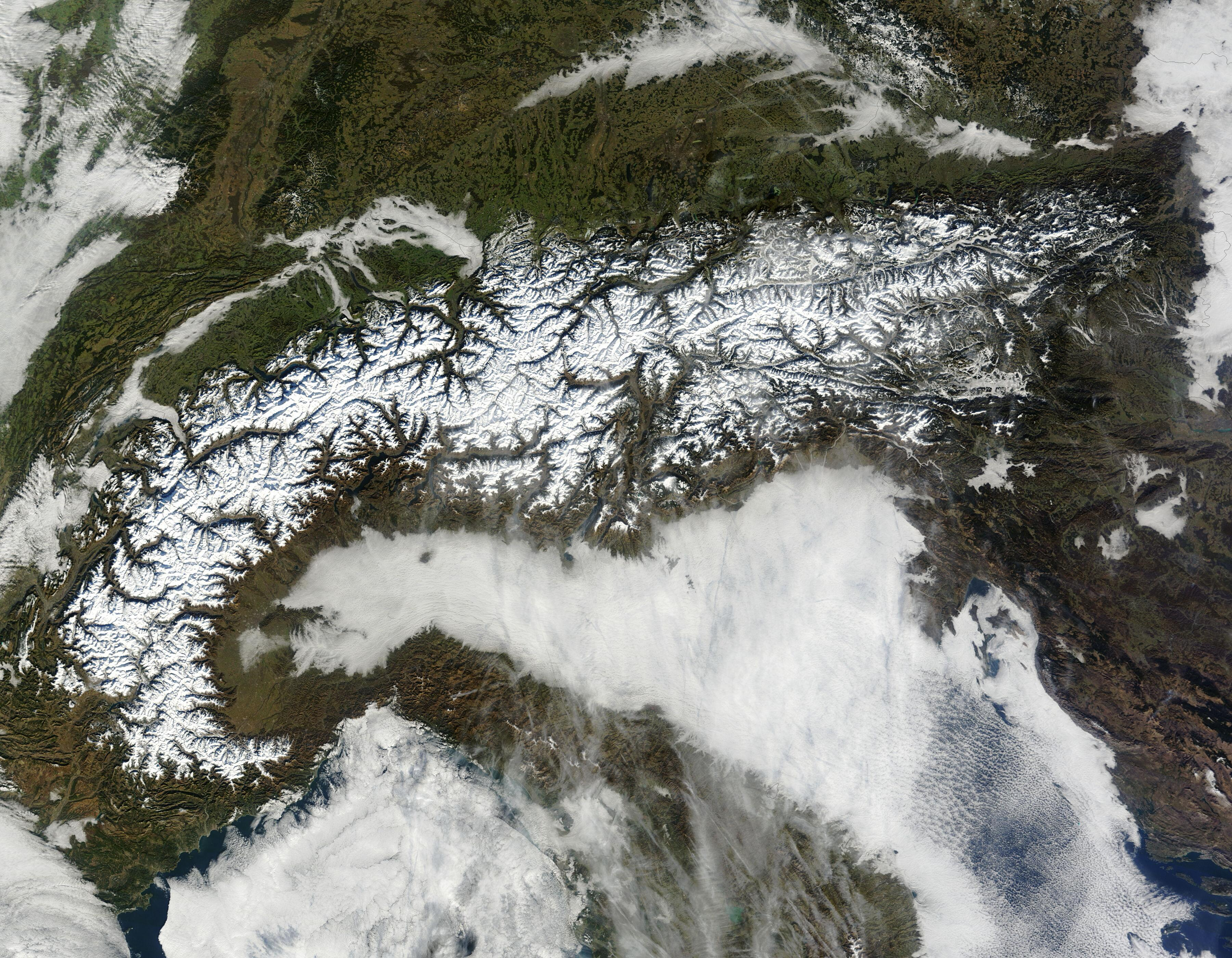 Bild zu Alpen