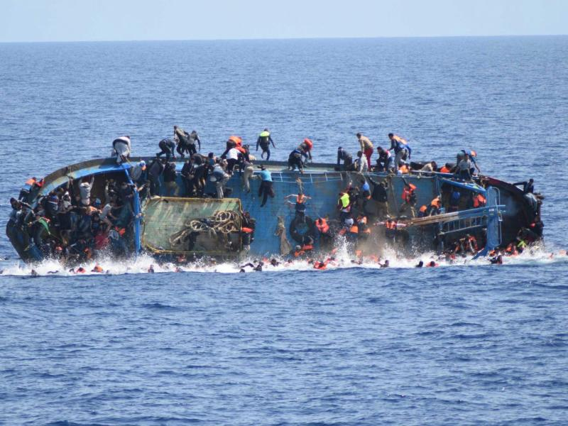 Bild zu Flüchtlingsboot