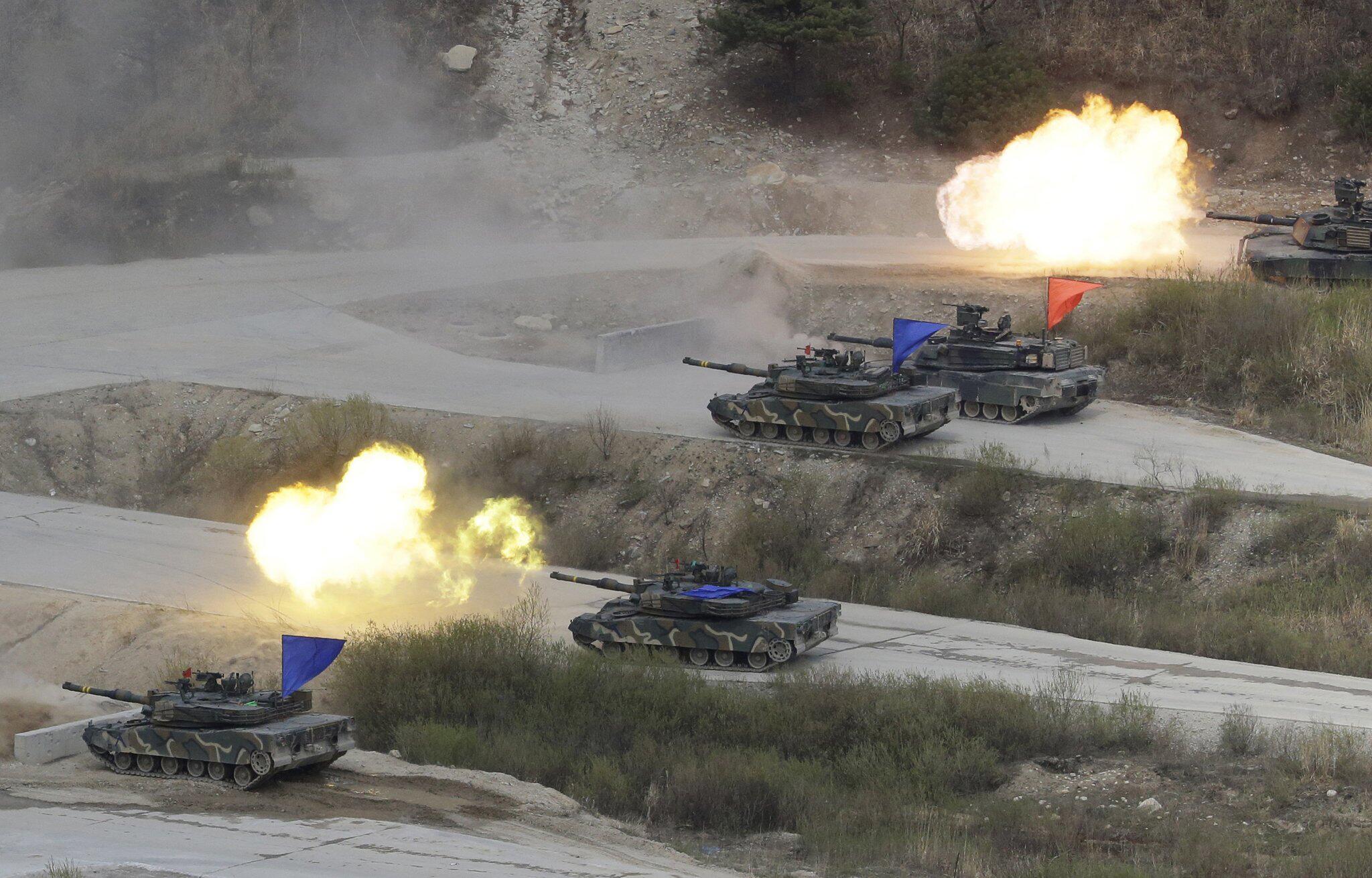 Bild zu USA und Südkorea halten an Manöver fest