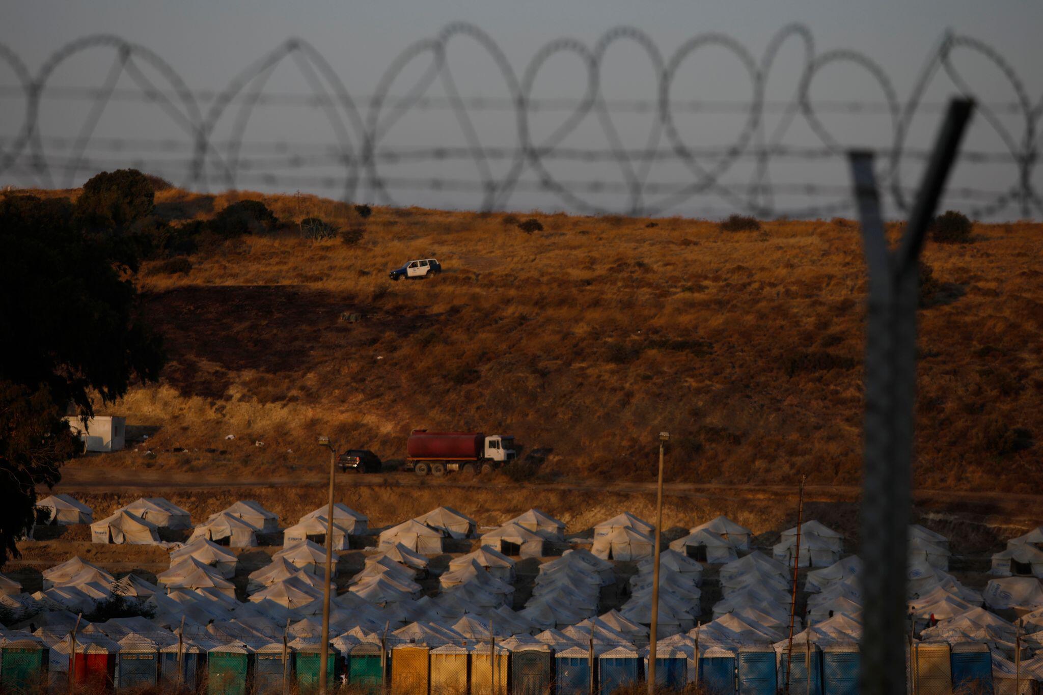 Bild zu Nach Brand im Flüchtlingslager Moria