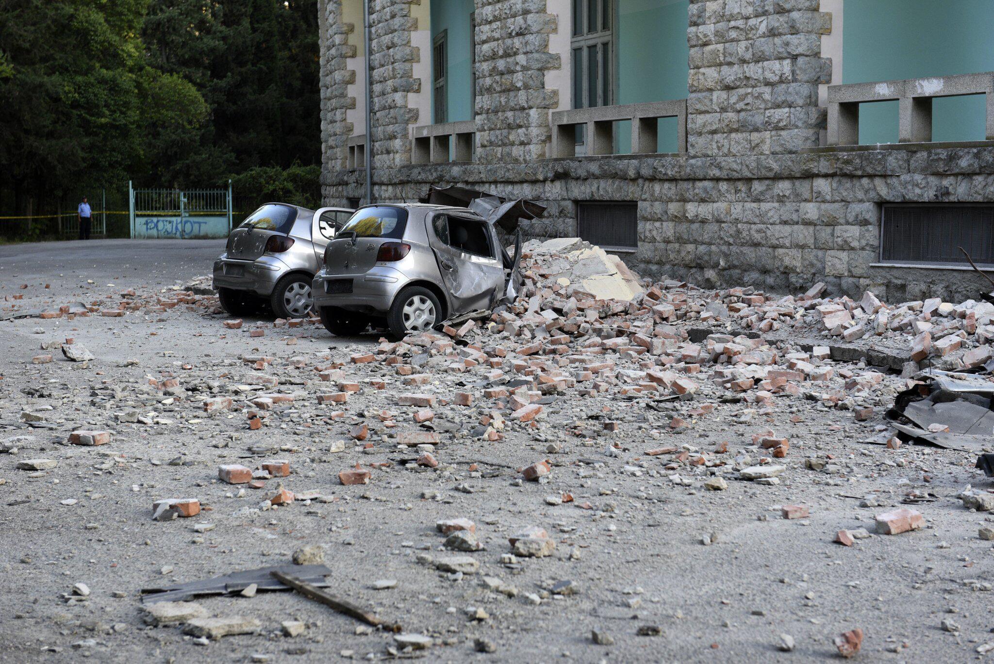 Bild zu Erdbeben in Albanien