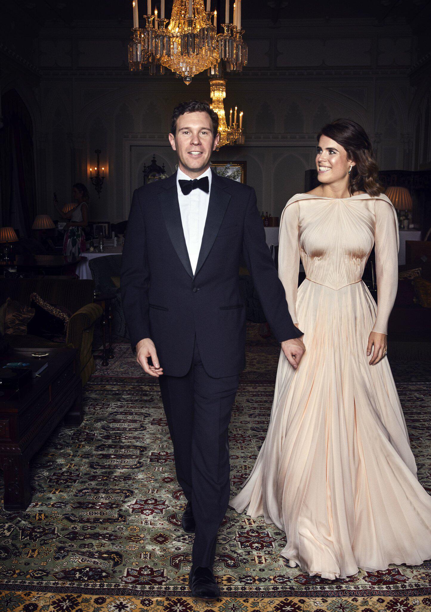 Bild zu Nach der Hochzeit von Prinzessin Eugenie