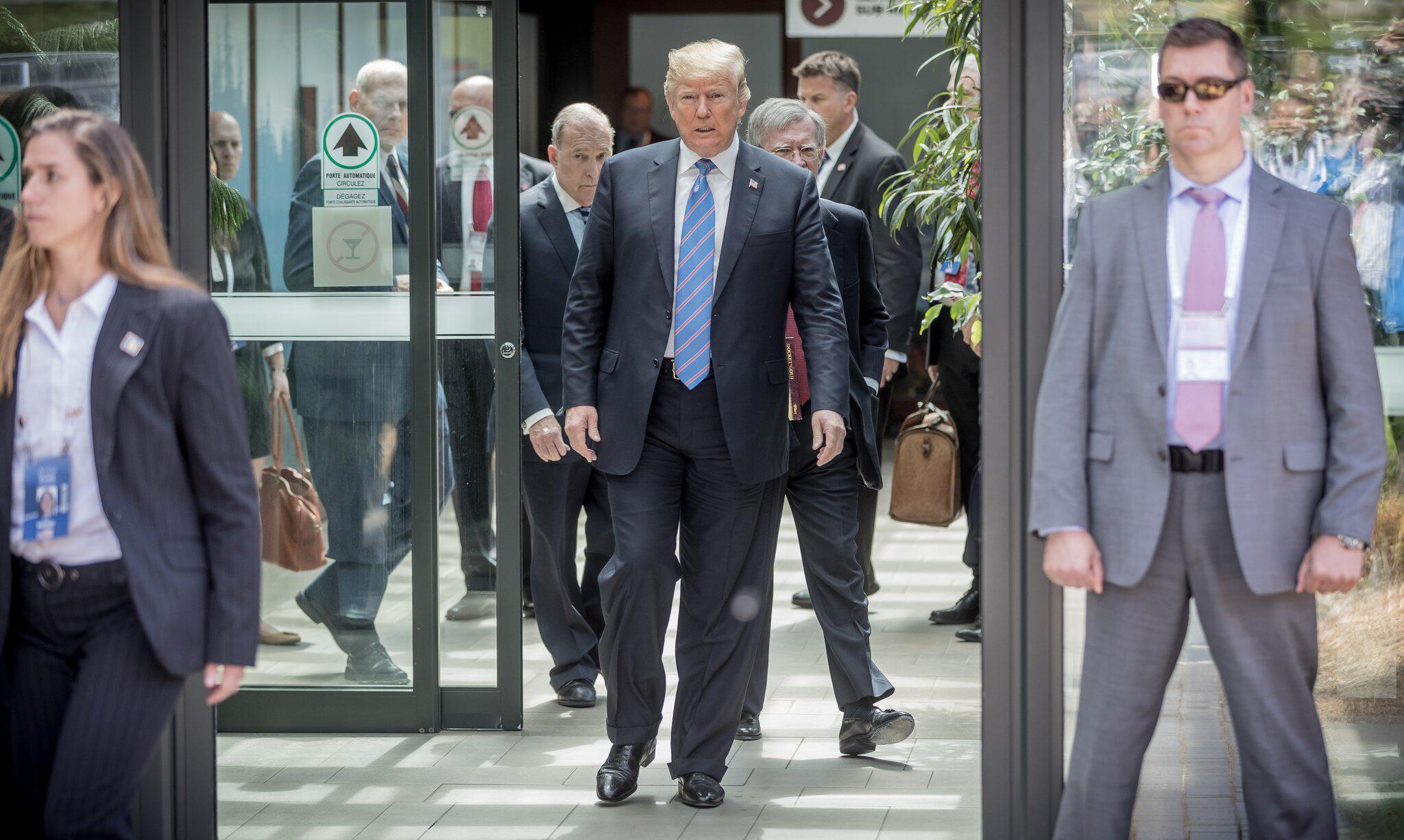 Bild zu G7 Summit in Canada