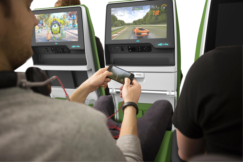 Bild zu Videospiele im Flugzeug