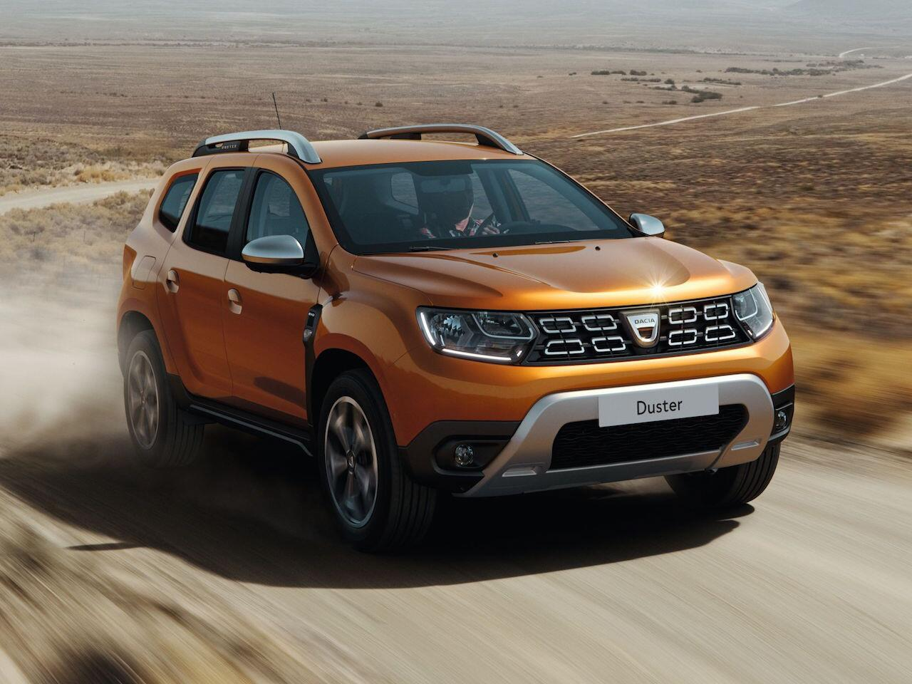 Bild zu Platz 14: Dacia Duster