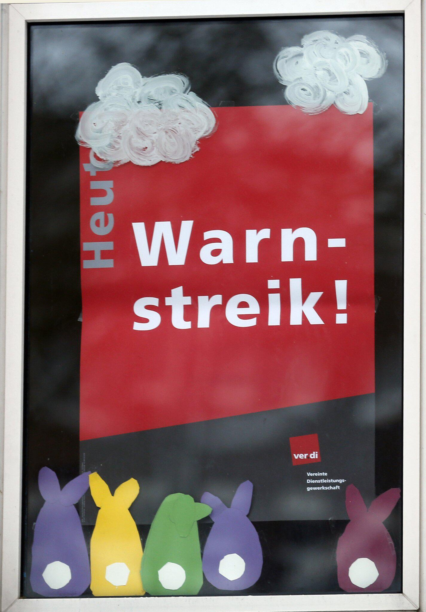 Bild zu Warnstreiks in NRW 2018