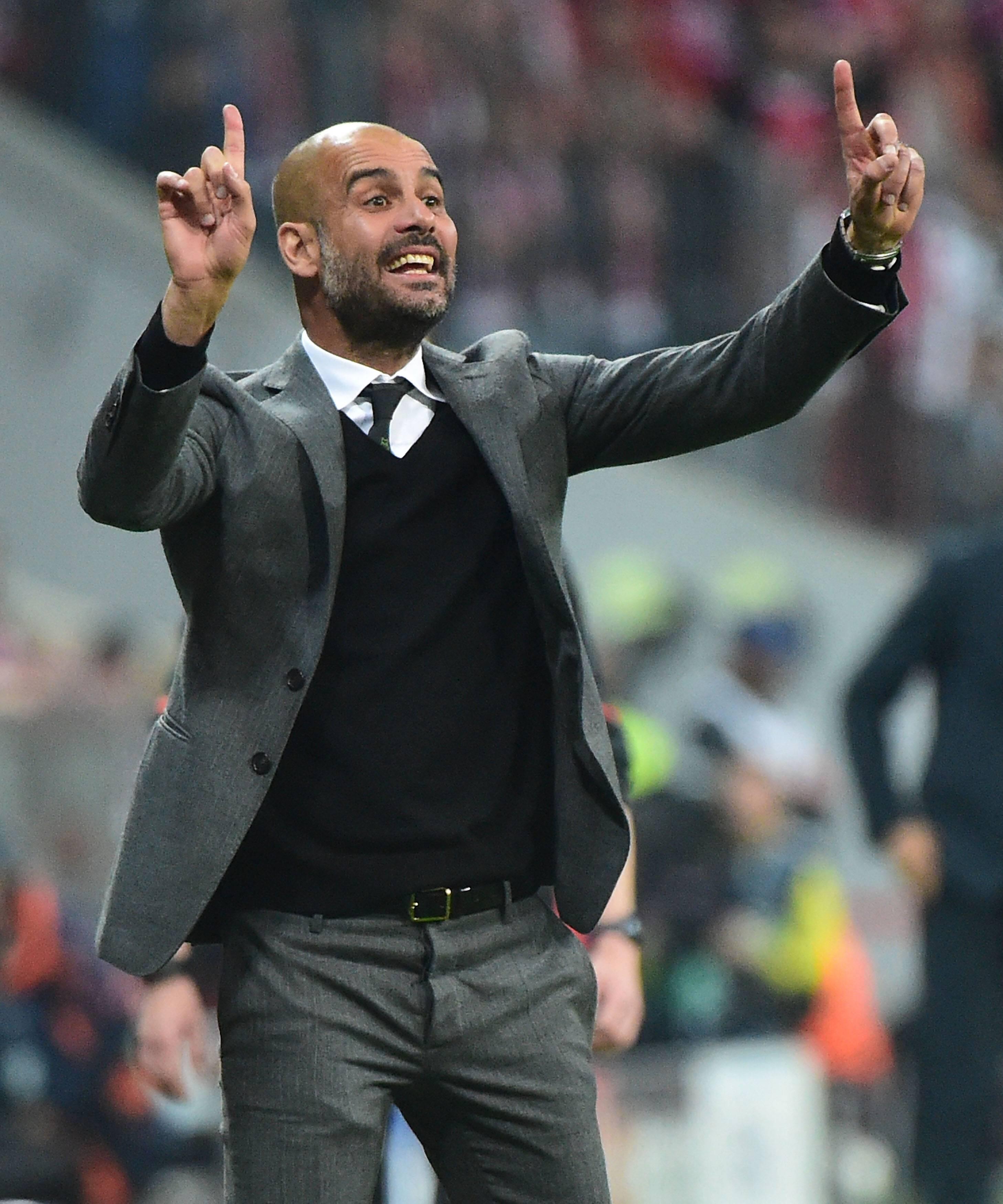 Bild zu Pep Guardiola, Champions League