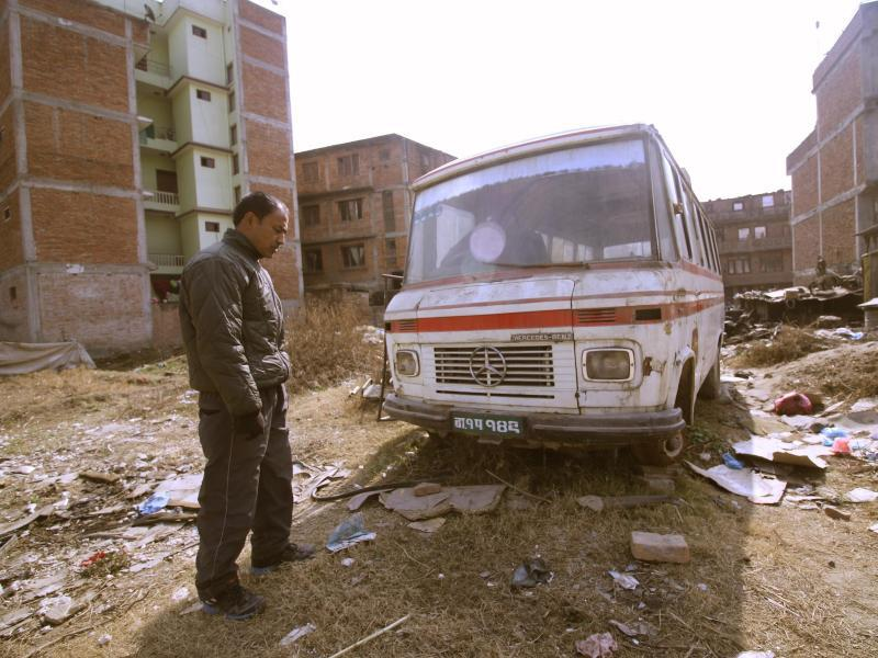Bild zu Ausrangierter Mercedes-Benz-Bus