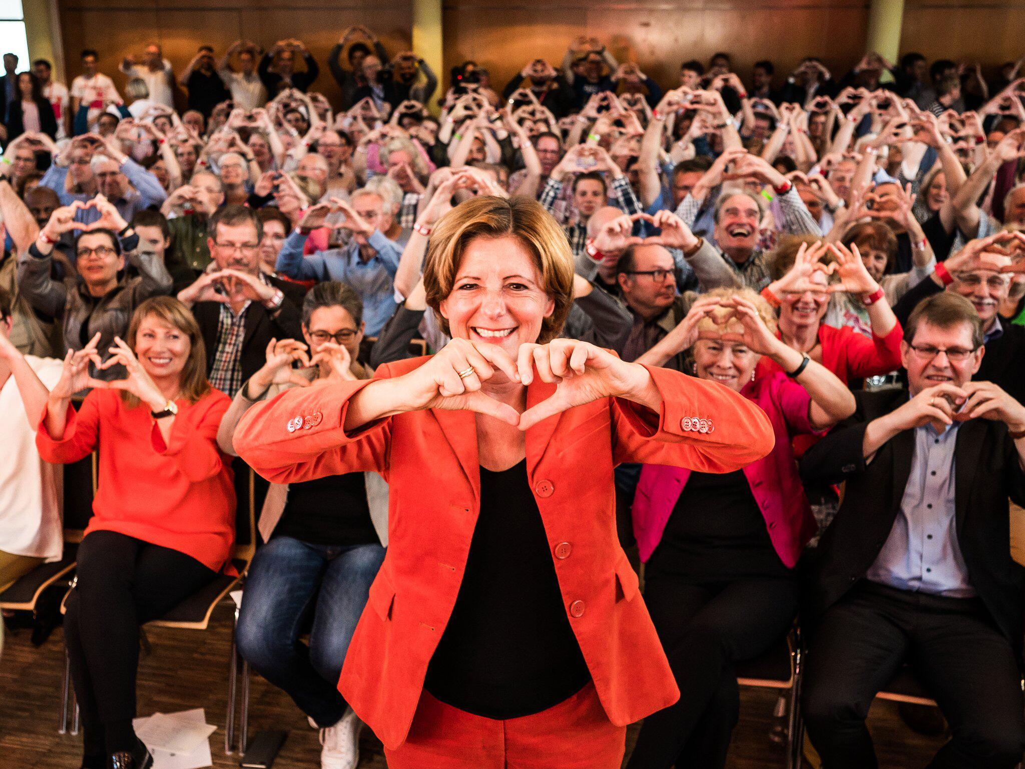 Bild zu SPD regional conference in Nieder-Olm