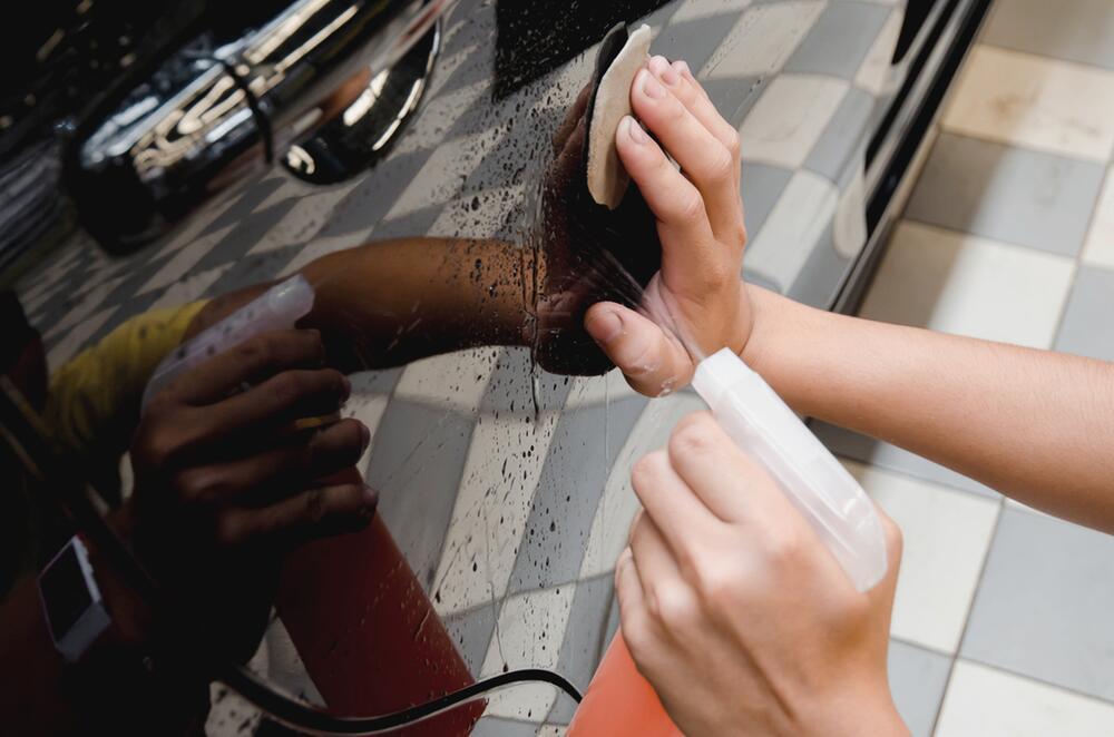 Reinigungsknete: für lackierte Oberflächen, Glasscheiben und Felgen