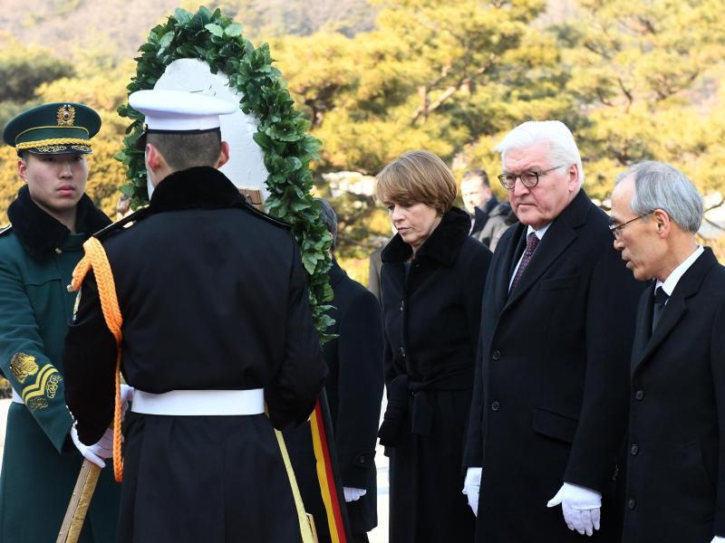 Bild zu Bundespräsident in Südkorea