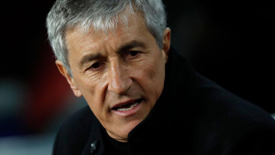Barça trennt sich von Trainer Quique Setién
