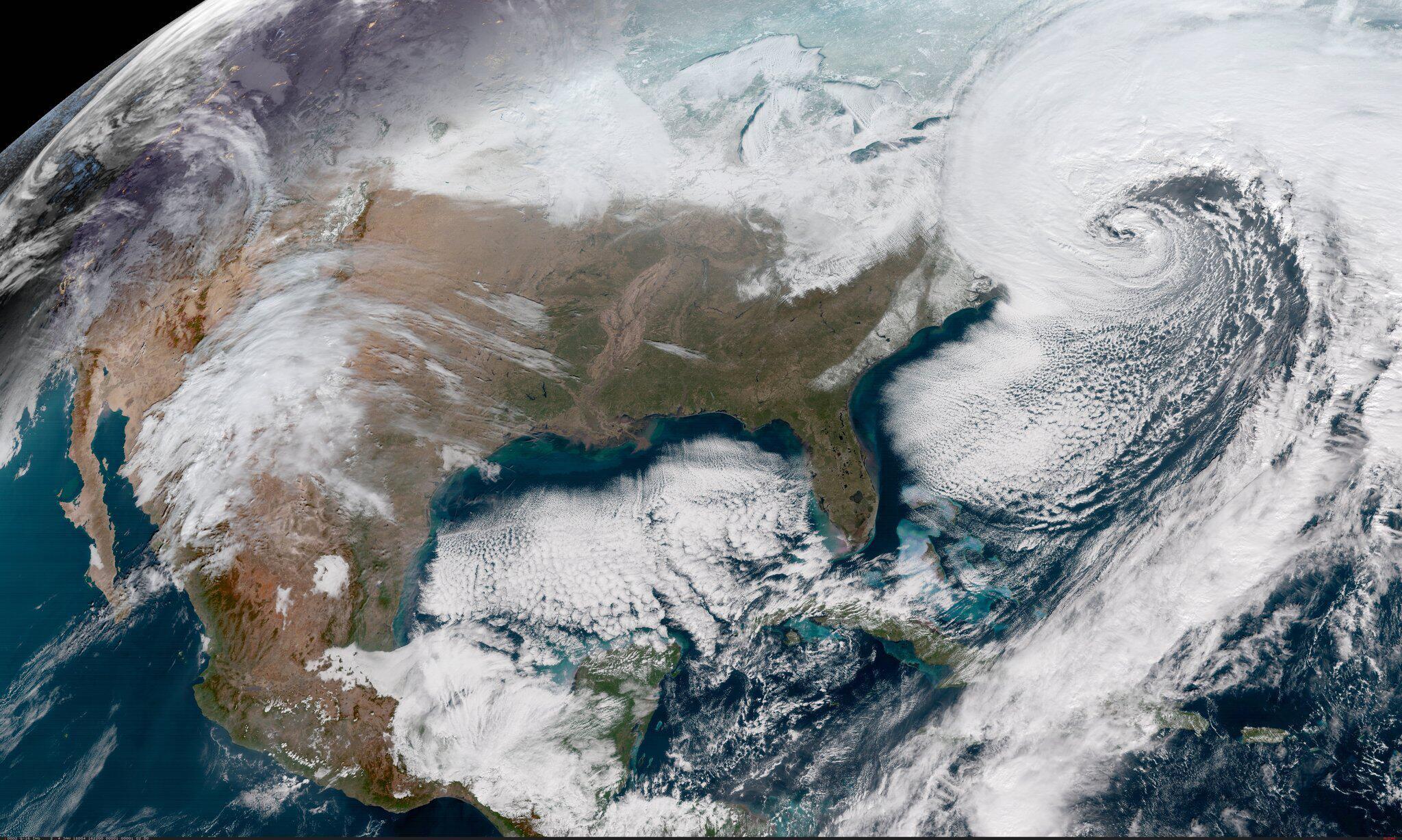 Bild zu Wetter in den USA - Sturm über der Ostküste